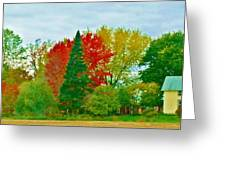 Country Home 3 Greeting Card