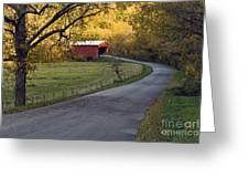 Country Lane - D007732 Greeting Card