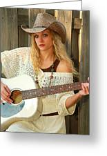 Country Musician Greeting Card