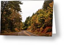 Country Road Greeting Card