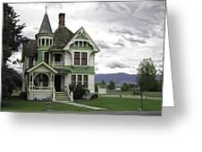 Country Victorian - Hamilton Montana Greeting Card
