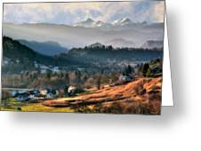 Countryside. Slovenia Greeting Card