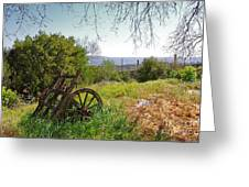 Countryside Wagon Greeting Card