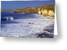 County Antrim, Ireland Seascape With Greeting Card