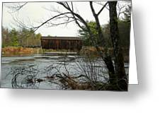 County Covered Bridge Greeting Card