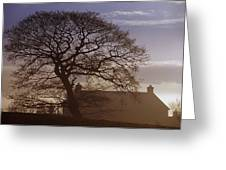 County Tyrone, Ireland Winter Morning Greeting Card