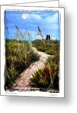 Couple In The Moonlight Greeting Card
