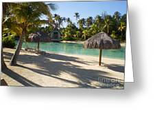 Couples Retreat In Bora Bora Greeting Card