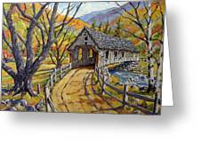 Covered Bridge 04 Greeting Card
