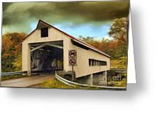Covered Bridge 2 Greeting Card