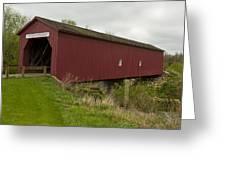 Covered Bridge Zumbrota 1 Greeting Card