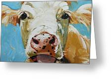 Cow 310 Greeting Card