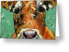 Cow 484 Greeting Card