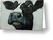 Cow 490 Greeting Card
