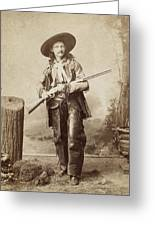 Cowboy, 1880s Greeting Card