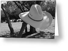 Cowboy Fashion Greeting Card