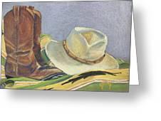 Cowboy Life Greeting Card