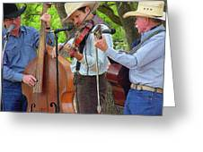 Cowboy Music Greeting Card