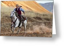 Cowboy Tom Greeting Card