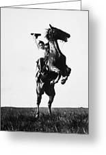 Cowboys, 1909 Greeting Card