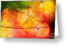 Cracked Kaleidoscope Greeting Card