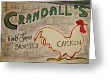 Crandalls Greeting Card
