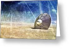 Crash Site Greeting Card