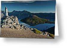 Crater Lake Afternoon Greeting Card