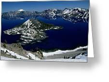 Crater Lake National Park, Oregon Greeting Card