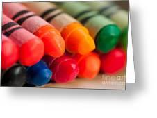 Crayons 2 Greeting Card