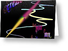 Create Your Own Path Verbally II Greeting Card