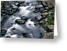 Creek Flow Panel 3 Greeting Card