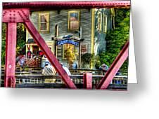 Creek Street - Ketchikan Alaska Greeting Card