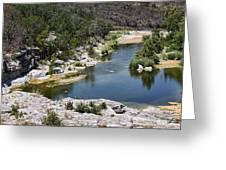 Creek Water Greeting Card