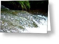 Creek Water Splash Greeting Card