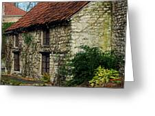 Creeper Cottage Greeting Card