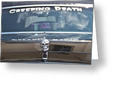 Creeping Death Greeting Card