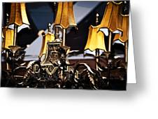 Creole Chandelier  Greeting Card