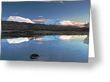 Crianlarich Sunset Greeting Card