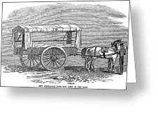 Crimean War: Ambulance Greeting Card
