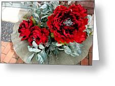 Crimson Desire Greeting Card