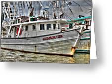 Crimson Tide Greeting Card by Lynn Jordan