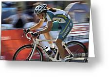 Criterium Bicycle Race 2 Greeting Card