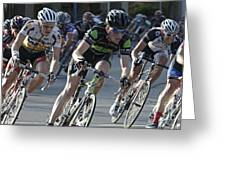Criterium Bicycle Race 6 Greeting Card