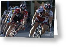 Criterium Bicycle Race 7 Greeting Card
