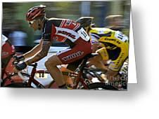 Criterium Bicycle Race1 Greeting Card