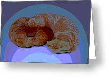 Croissants In Love Greeting Card