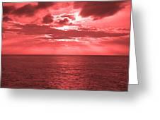 Cromer Sky Greeting Card