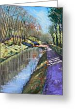 Cromford Canal Greeting Card