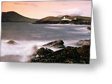 Cromwell Point Lighthouse, Valentia Greeting Card